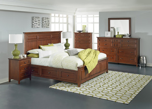 Thumbnail of Whittier Wood Furniture - McKenzie Mantel Storage Bed