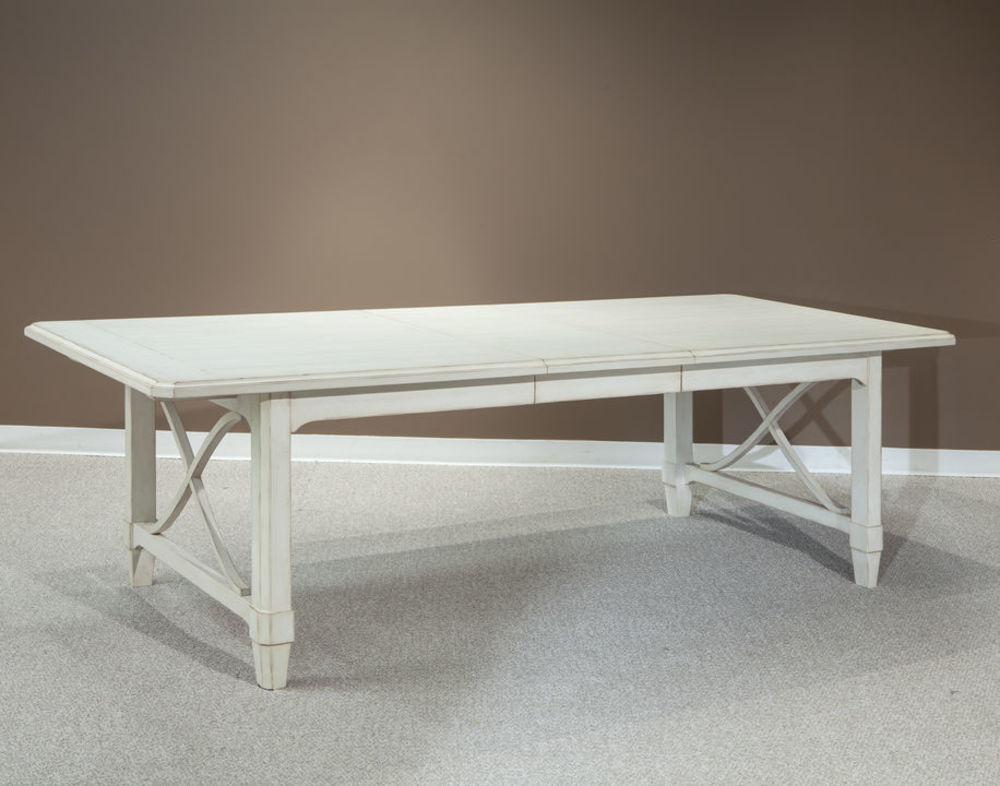 Palmetto Home - Millbrook Rectangular Leg Table w/ Self Storing Leaf