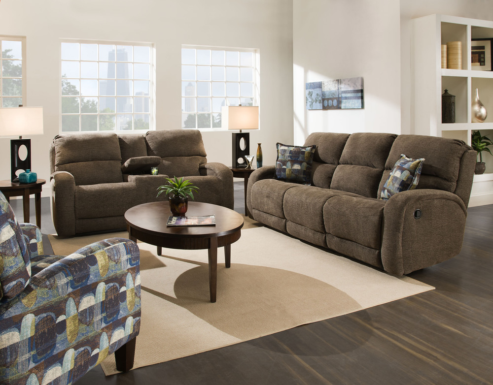 Southern Motion - Double Reclining Sofa