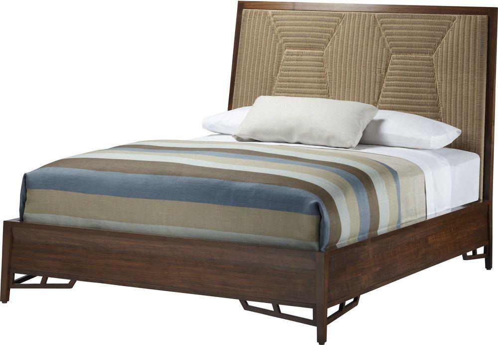 Baker McGuire - Branche Queen Bed with Woven Headboard