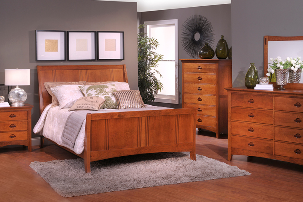 Country View Woodworking - Great Lakes Six Drawer Tall Chest