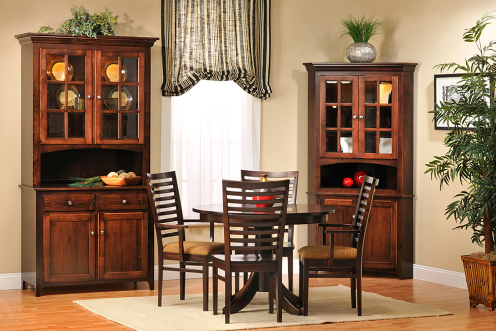 Country View Woodworking - Two Door Hutch & Buffet