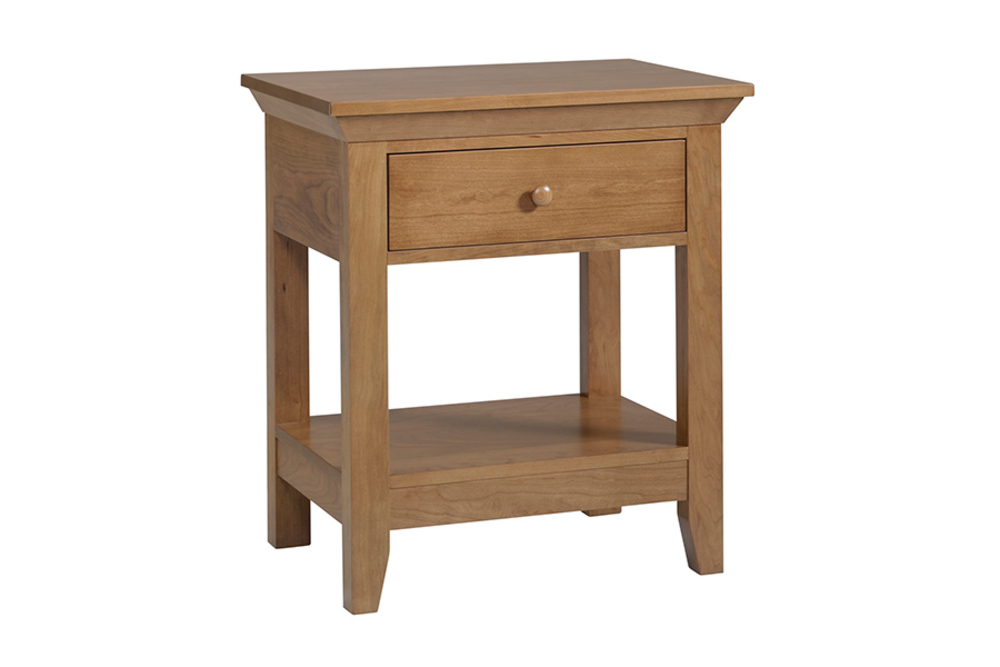 Country View Woodworking - American Expressions One Drawer Nightstand