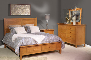 Thumbnail of Country View Woodworking - American Expressions Three Drawer Nightstand