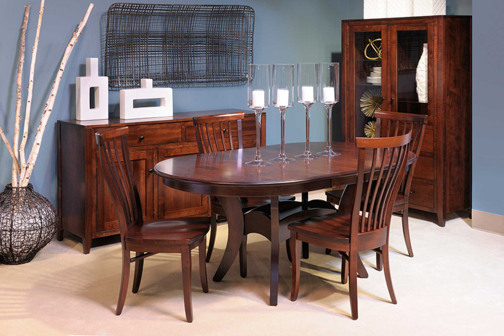 Country View Woodworking - Trestle Table