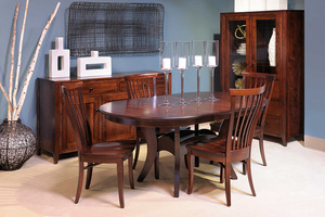 Thumbnail of Country View Woodworking - Trestle Table