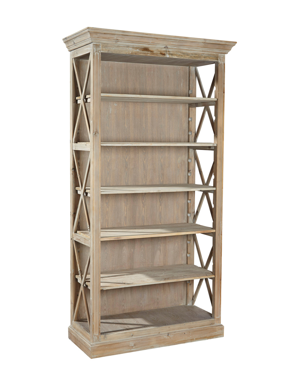 Furniture Classics Limited - Weathered Open Bookcase