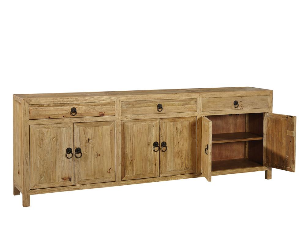 Furniture Classics Limited - Large Old Elm Sideboard