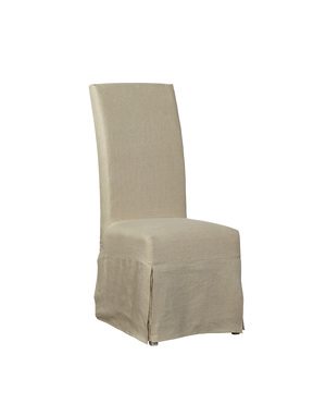 Thumbnail of Furniture Classics Limited - Linen Floor Length Slipcovered Parsons Chair