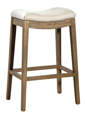 Thumbnail of Furniture Classics Limited - Linen Backless Barstool