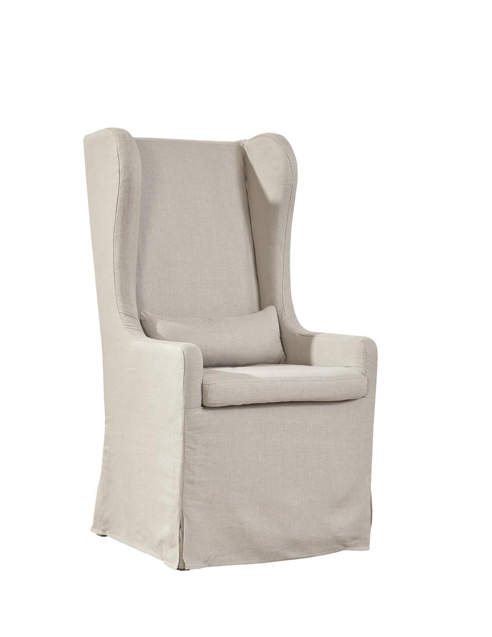Furniture Classics Limited - Highback Linen Host Chair