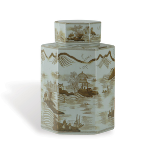 Thumbnail of Port 68 - Canton Small Brown Jar