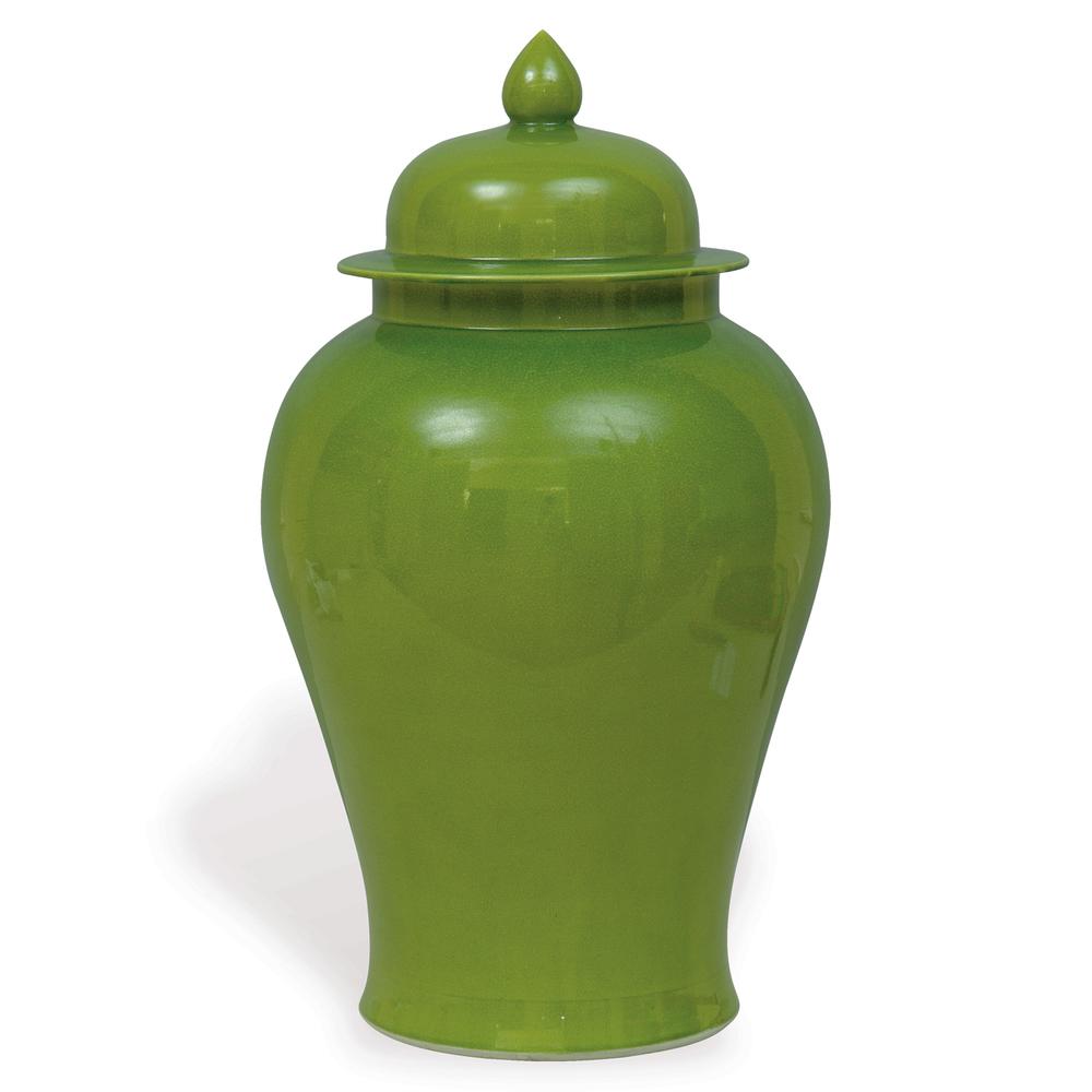Port 68 - Apple Green Temple Jar