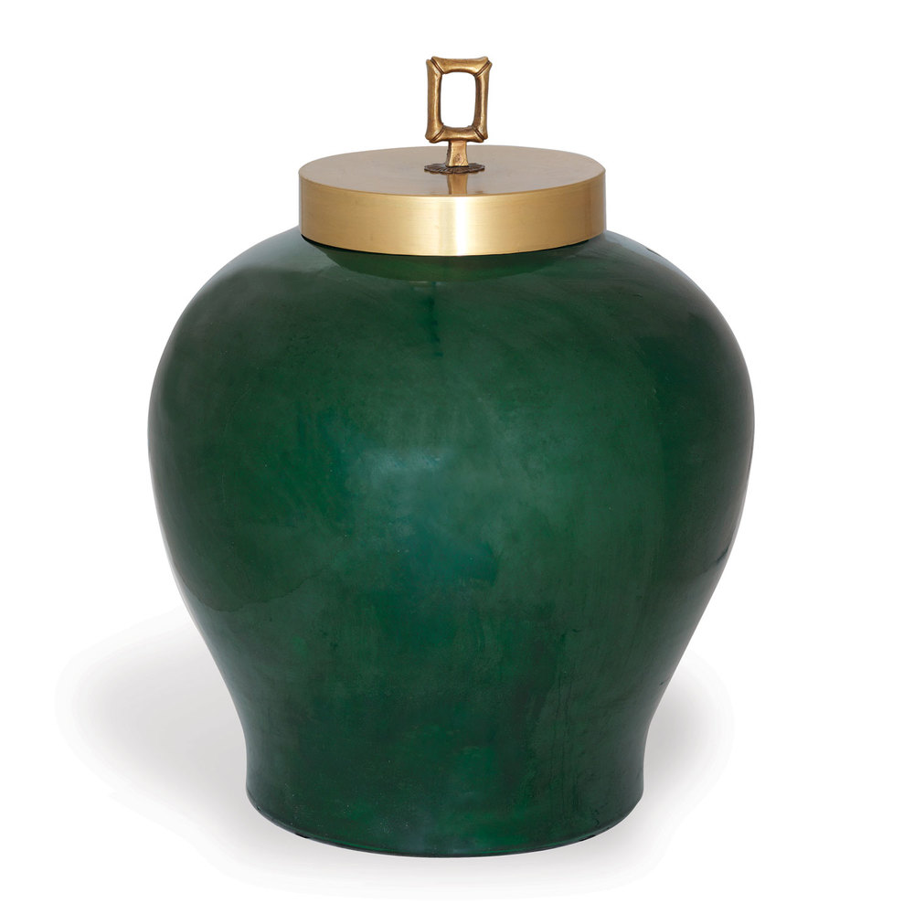 Port 68 - Melrose Emerald Jar