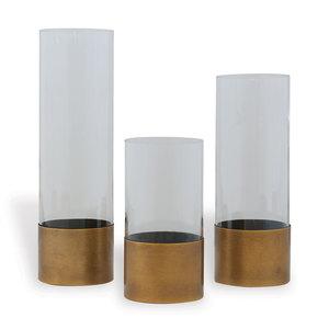 Thumbnail of Port 68 - Evanston Clear Vases, Set/3