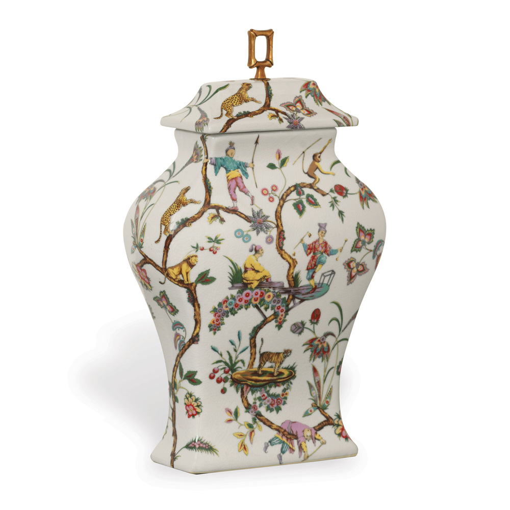 Port 68 - Chinoiserie Exotique Vase