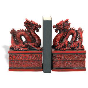 Thumbnail of Port 68 - Dragon Cinnabar Bookends, Set/2