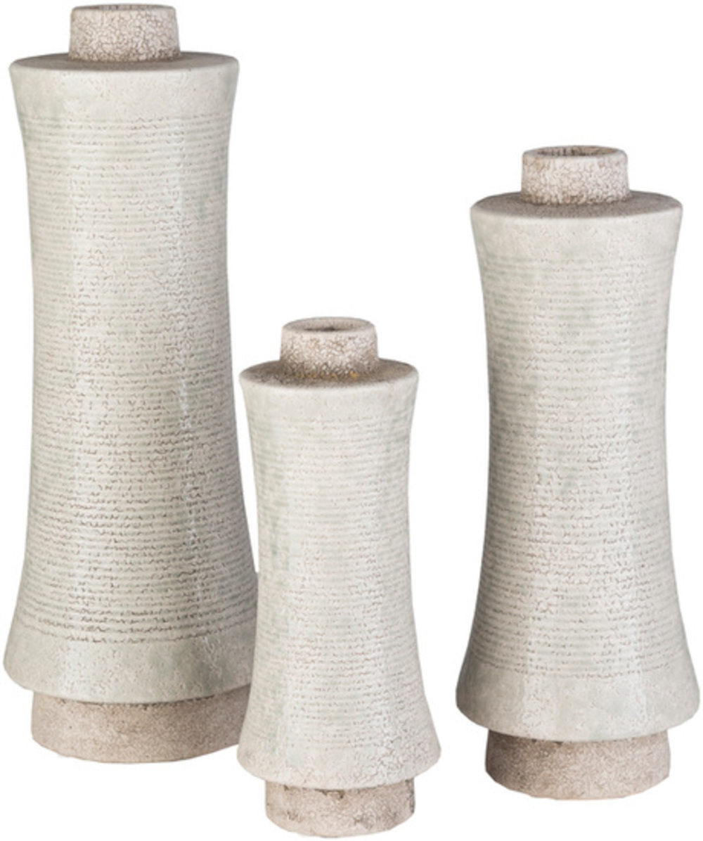 Surya - Doshi 3 pc Vase Set