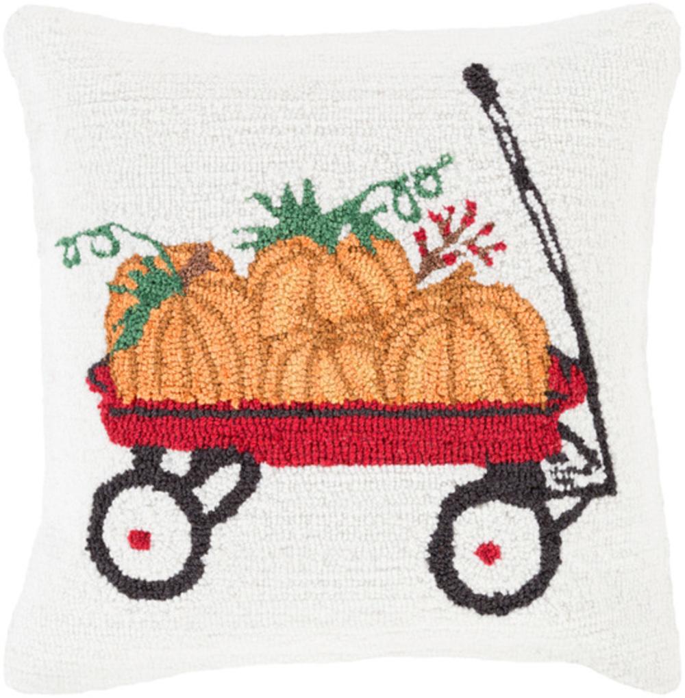 "Surya - Fall Harvest 18"" x 18"" Pillow"