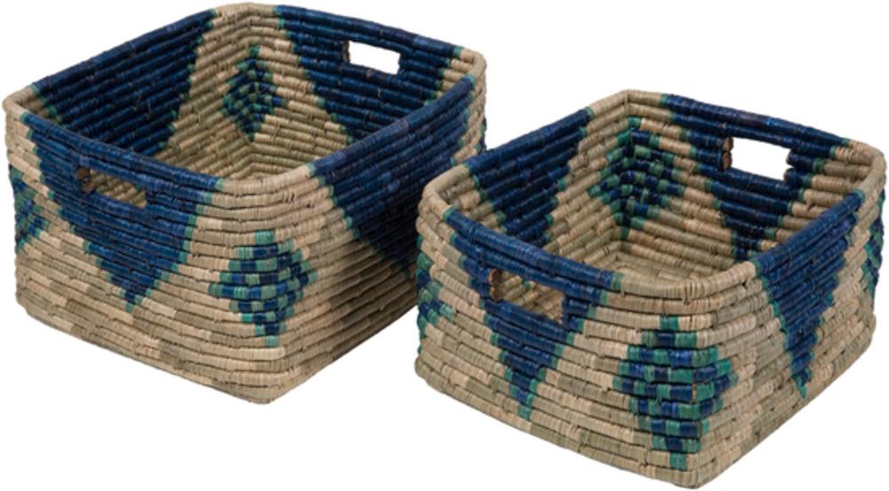 Surya - Ferry 2 pc Basket Set