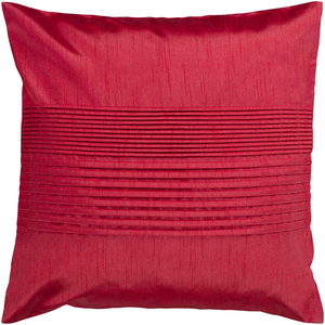 """Thumbnail of Surya - Solid Pleated 18"""" x 18"""" Throw Pillow"""