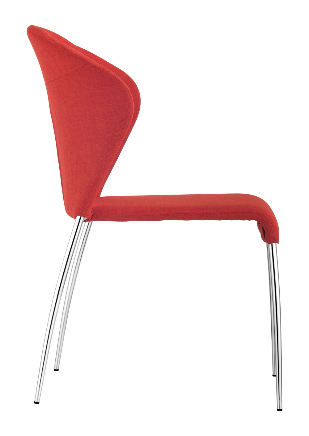 ZUO MODERN CONTEMPORARY, INC - Oulu Dining Chair - Set of 4 - Tangerine