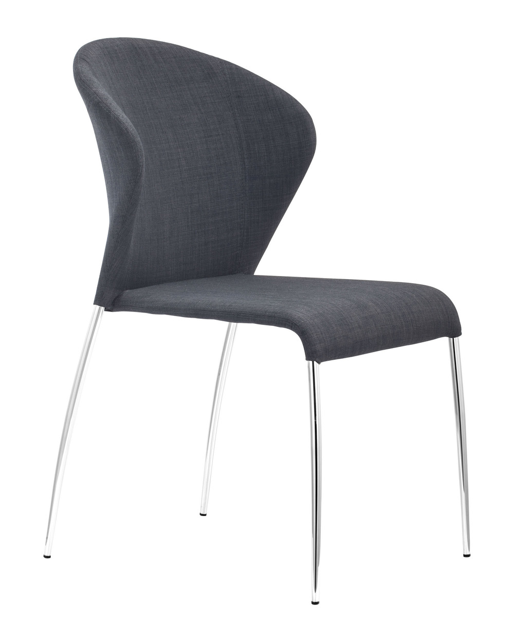 Zuo Modern Contemporary - Oulu Dining Chair - Set of 4 - Graphite