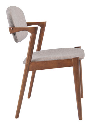 Thumbnail of Zuo Modern Contemporary - Brickell Dining Chair - Set of 2 - Gray