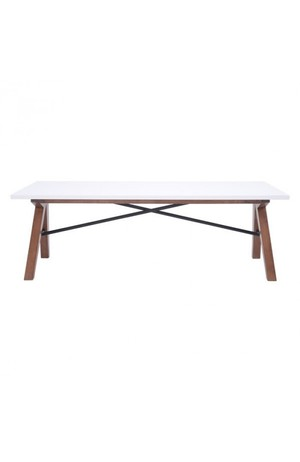 Thumbnail of Zuo Modern Contemporary - Saints Coffee Table Walnut & White