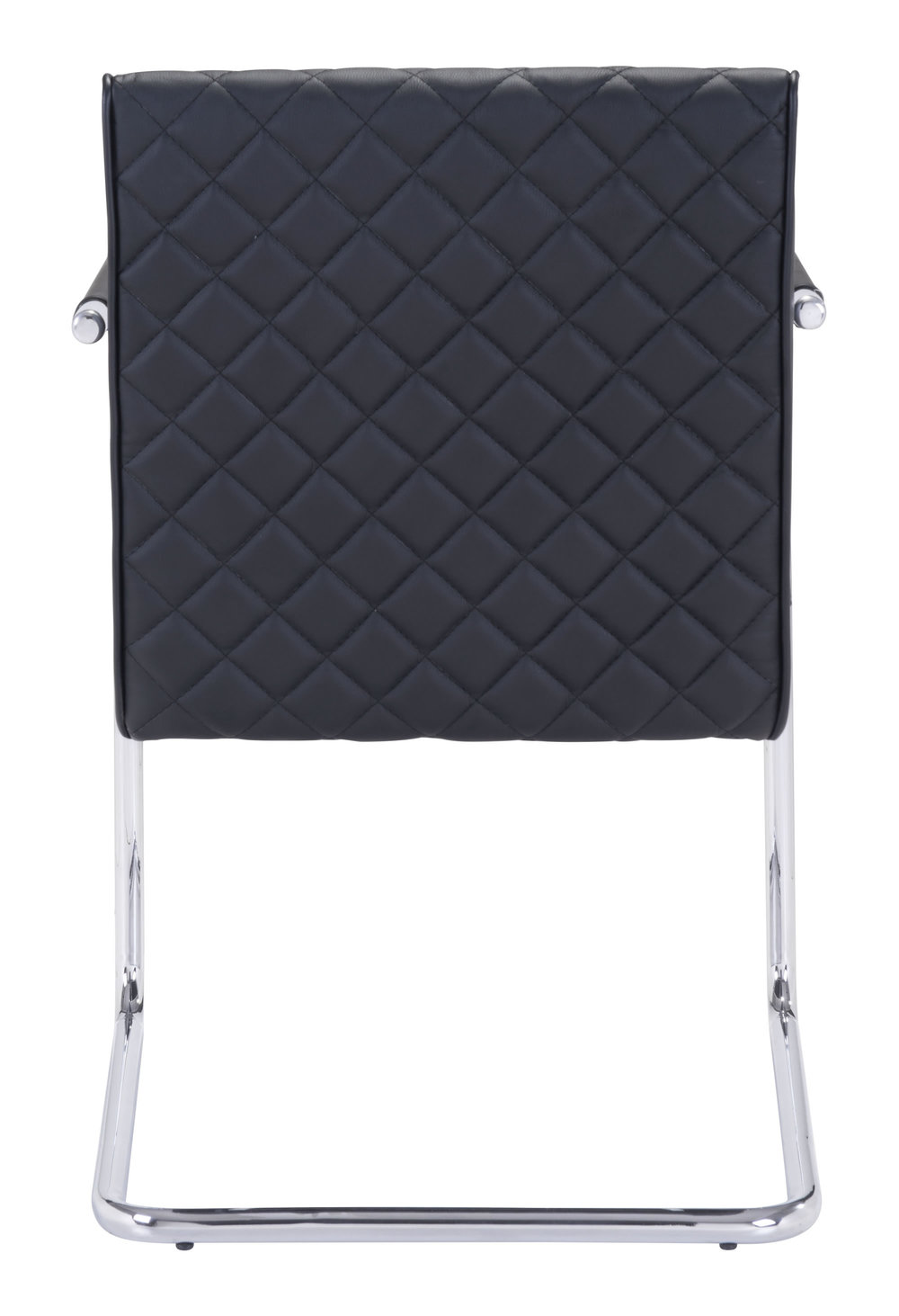 Zuo Modern Contemporary - Quilt Dining Chair - Set of 2 - Black