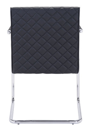 Thumbnail of Zuo Modern Contemporary - Quilt Dining Chair - Set of 2 - Black