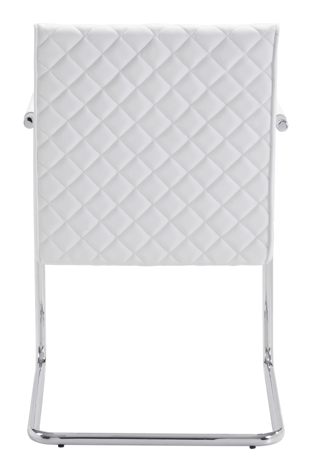 Zuo Modern Contemporary - Quilt Dining Chair - Set of 2 - White