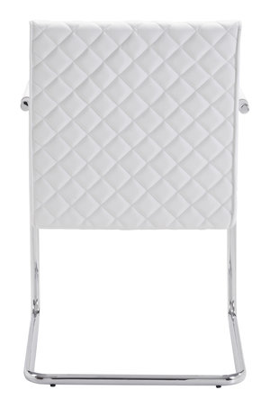 Thumbnail of Zuo Modern Contemporary - Quilt Dining Chair - Set of 2 - White