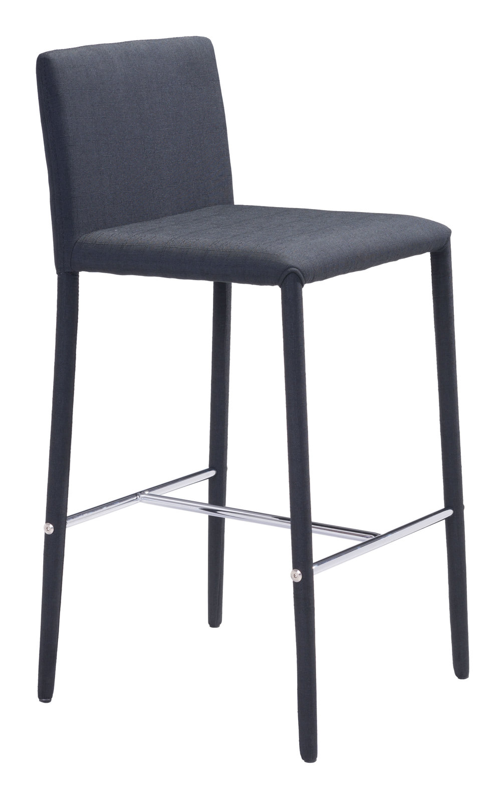 Zuo Modern Contemporary - Confidence Counter Chair - Set of 2 - Black
