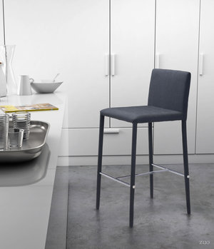 Thumbnail of Zuo Modern Contemporary - Confidence Counter Chair - Set of 2 - Black