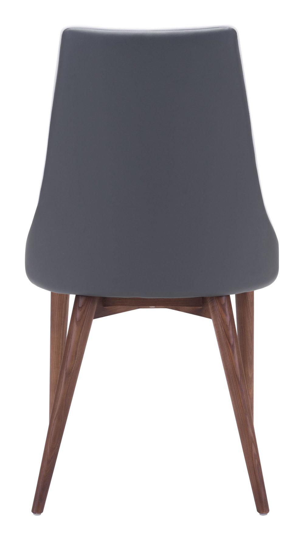 Zuo Modern Contemporary - Moor Dining Chair - Set of 2 - Dark Gray
