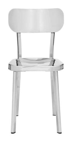 Thumbnail of Zuo Modern Contemporary - Winter Dining Chair - Set of 2 - Polished Stainless Steel