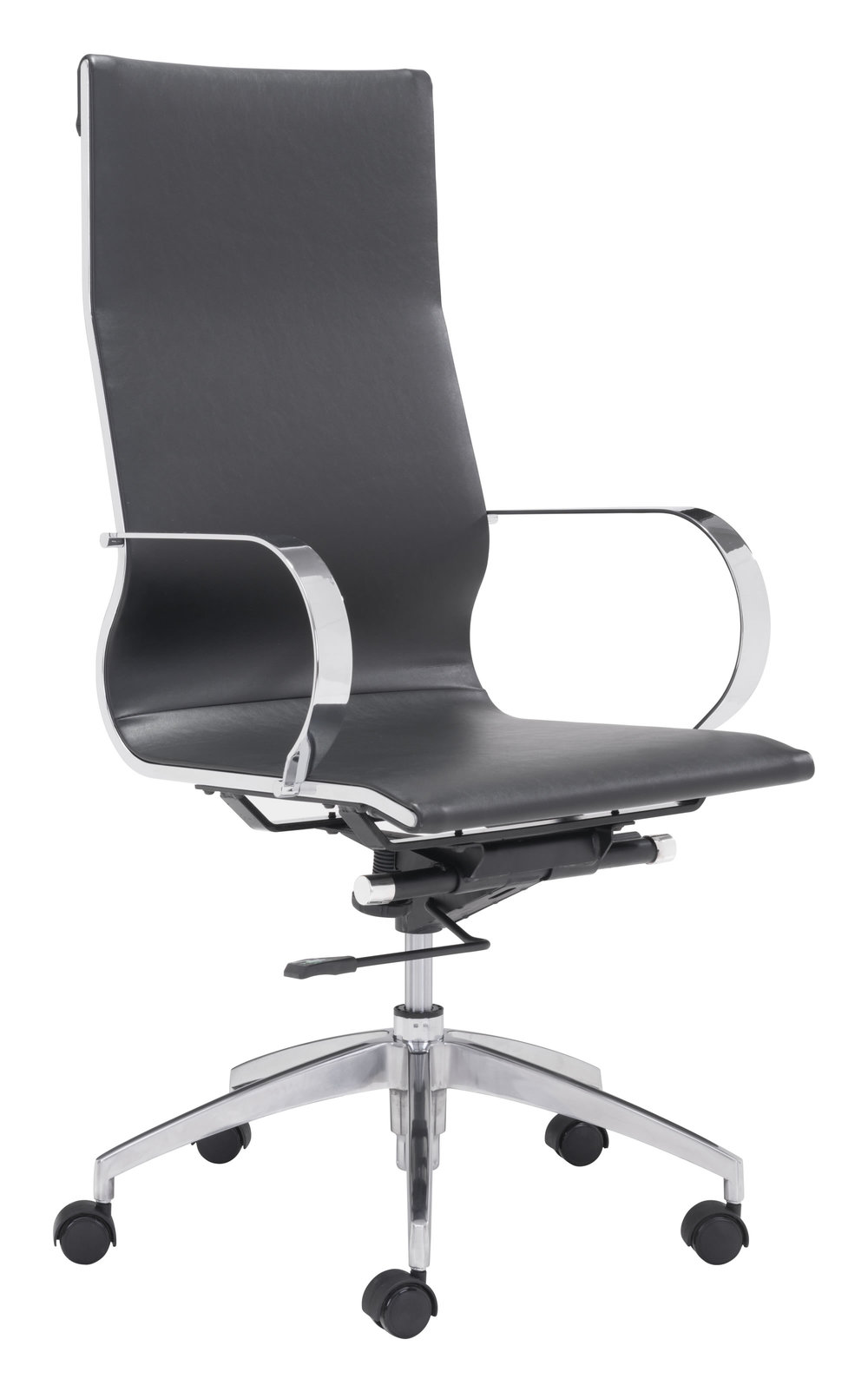 Zuo Modern Contemporary - Glider High Back Office Chair Black