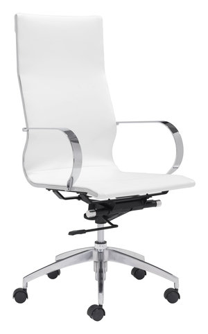 Thumbnail of Zuo Modern Contemporary - Glider High Back Office Chair White