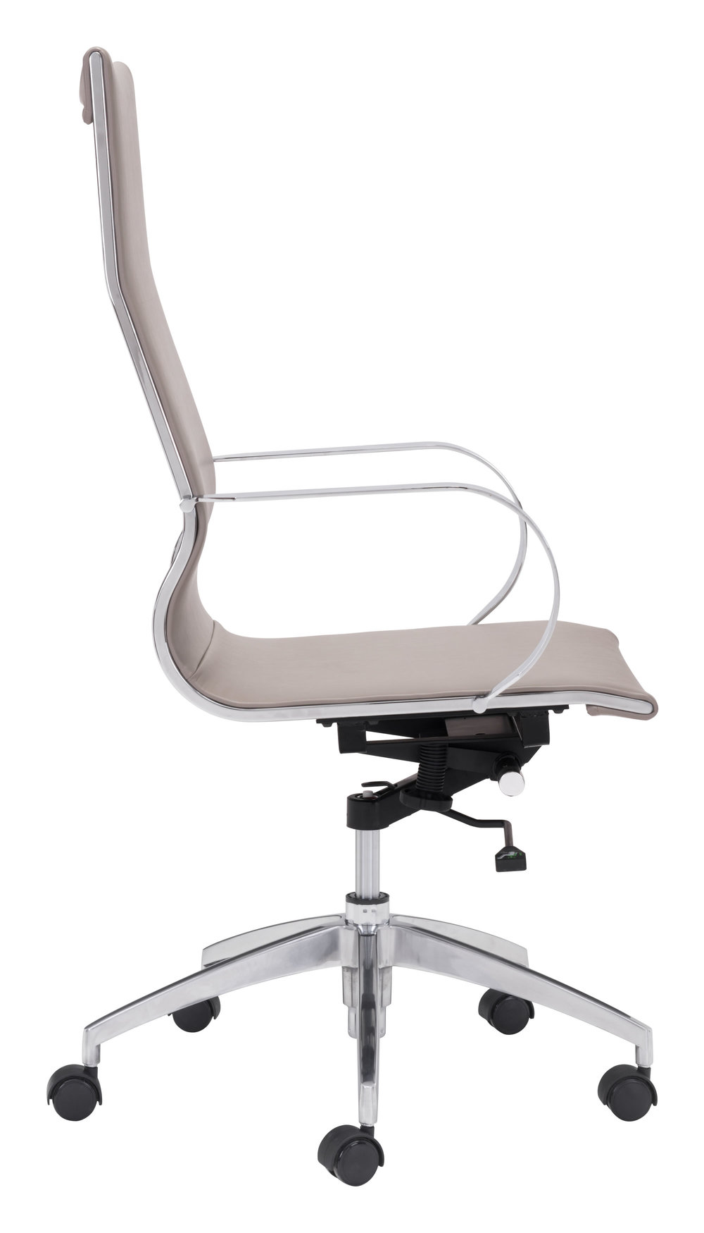 Zuo Modern Contemporary - Glider High Back Office Chair Taupe
