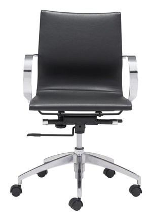 Thumbnail of Zuo Modern Contemporary - Glider Low Back Office Chair Black