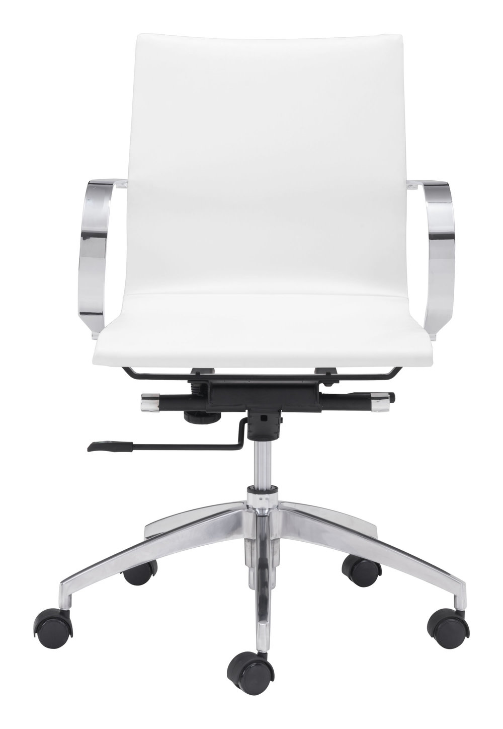Zuo Modern Contemporary - Glider Low Back Office Chair White