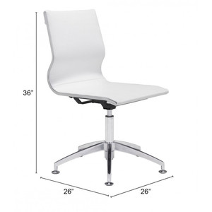 Thumbnail of Zuo Modern Contemporary - Glider Conference Chair White