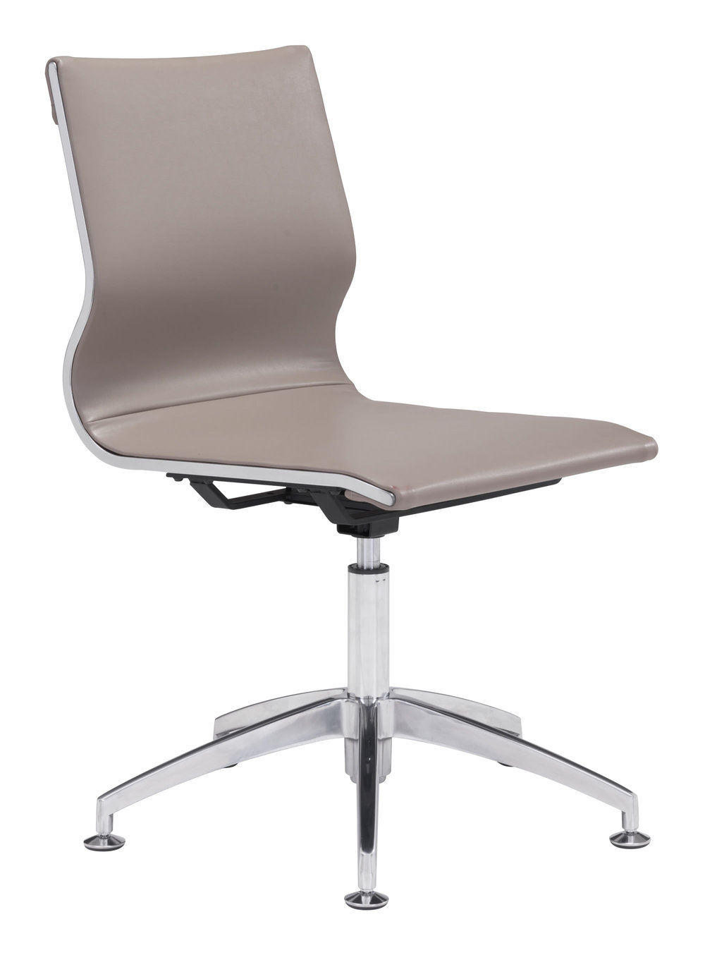Zuo Modern Contemporary - Glider Conference Chair Taupe