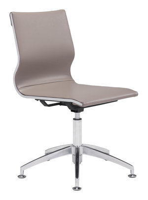 Thumbnail of Zuo Modern Contemporary - Glider Conference Chair Taupe