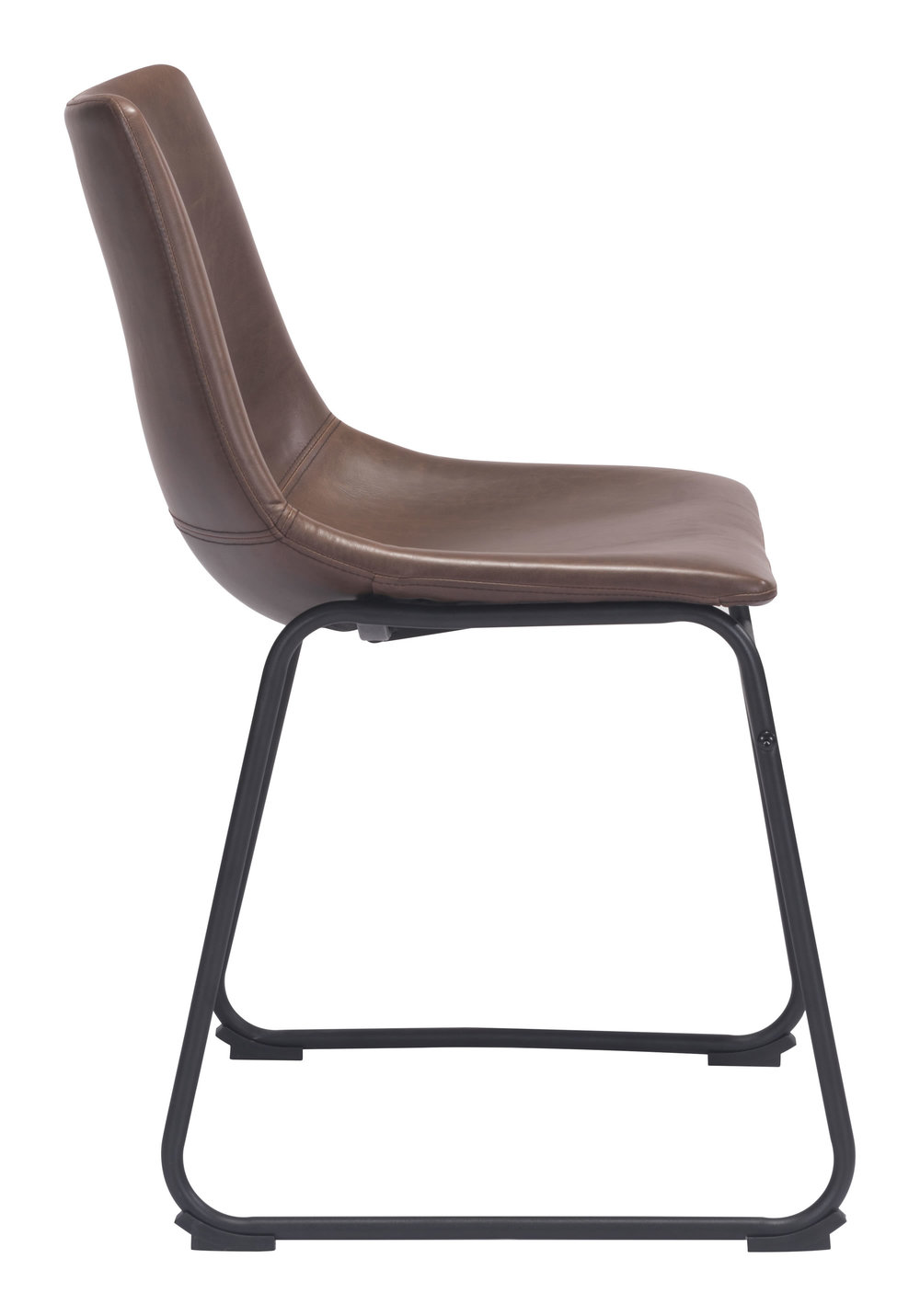 ZUO MODERN CONTEMPORARY, INC - Smart Dining Chair - Set of 2 - Vintage Espresso