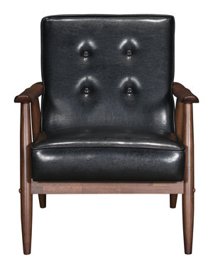 Thumbnail of Zuo Modern Contemporary - Rocky Arm Chair Black