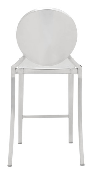 Thumbnail of ZUO MODERN CONTEMPORARY, INC - Eclipse Counter Chair, Set/2, Stainless Steel