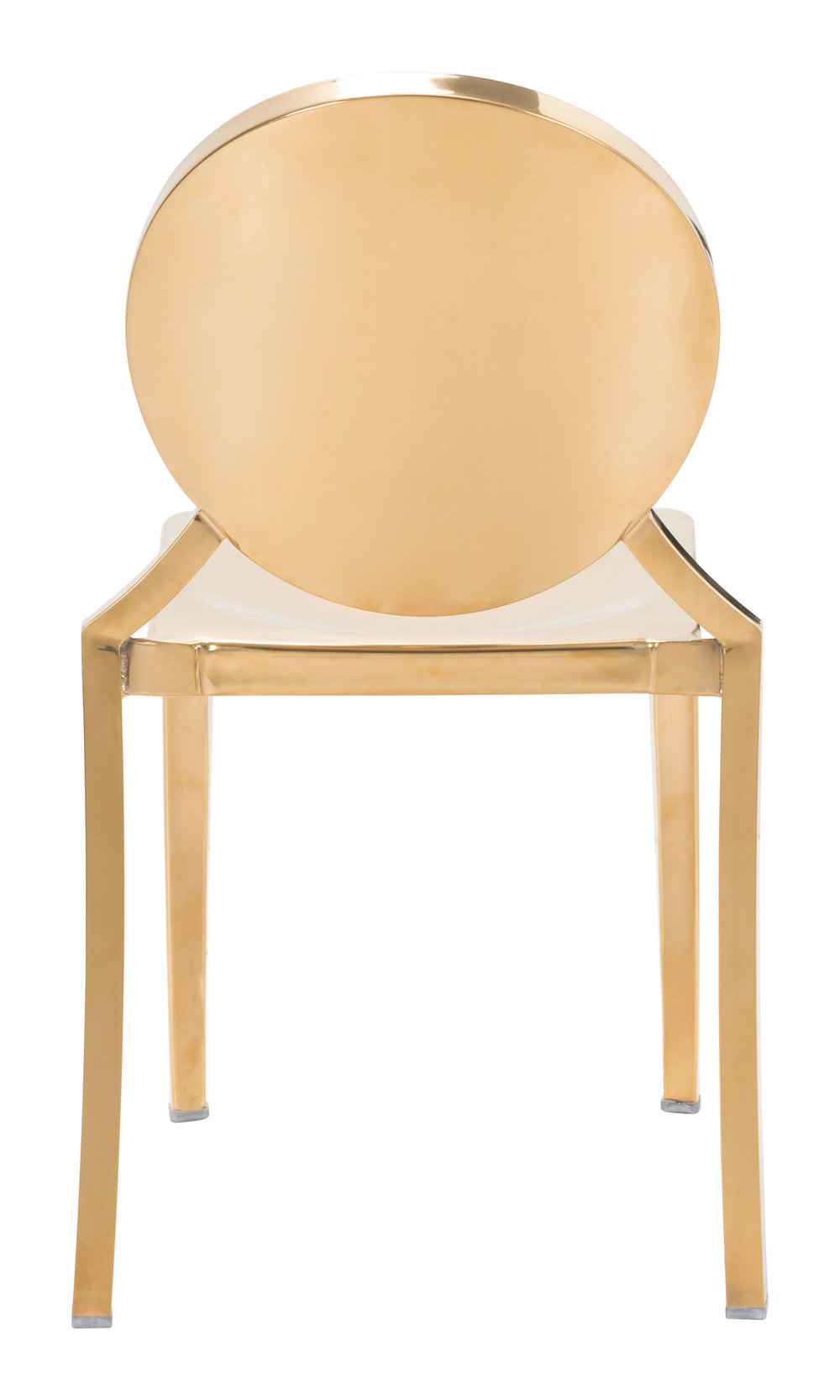 Zuo Modern Contemporary - Eclipse Dining Chair - Set of 2 - Gold