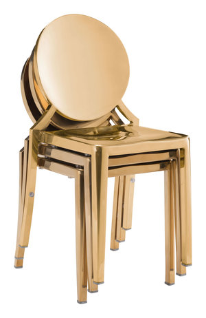 Thumbnail of Zuo Modern Contemporary - Eclipse Dining Chair - Set of 2 - Gold